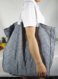 Reusable Huge Canvas Shopping Tote Bag pictures & photos
