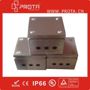 IP66 Stainless Steel Terminal Boxes with 4 Screws Type pictures & photos