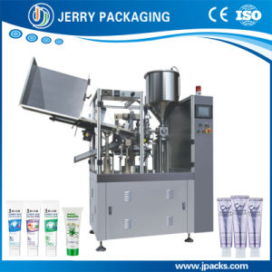 Automatic Toothpaste Aluminum Plastic Composite Tube Filling & Sealing Machine pictures & photos