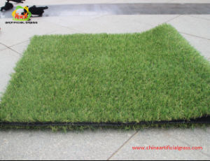 Natural Color Artificial Grass for Supermarket Hot Sale