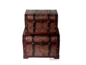 Vintage Decorative Wooden Trunk From Direct Factory in China