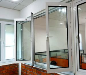 Non-Thermal Break Aluminum Bi-Fold Glass Window with Ce (TS-1111) pictures & photos