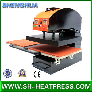 Automatic Double Stations T-Shirt Heat Press Transfer Machine Cy-E2 pictures & photos