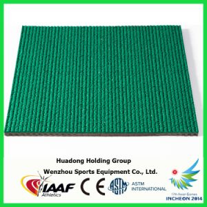 Iaaf Prefabricated Rubber Track Roll Used in Track and Field pictures & photos