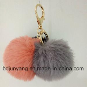 Keychain Rabbit Fur POM Phone Pendant pictures & photos