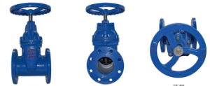 ANSI Big Sizes Dn1000 Resilient Flanged Gate Valve pictures & photos