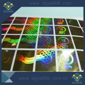 3D Hologram Anti-Counterfeiting Security Sticker pictures & photos
