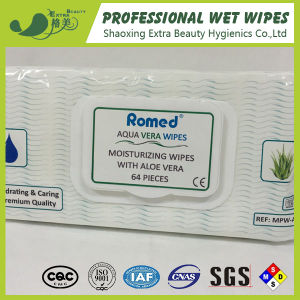 Moisturizing Wipes with Aloe Vera pictures & photos