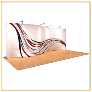 20ft S Shape Fabric Display Wall (Graphics Included) pictures & photos