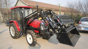 Hot Sale 120HP 4WD Wheel Farm Tractor From China Huaxia with Frontloader pictures & photos