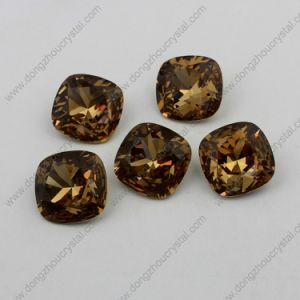 Light Smoked Topaz Point Back Crystal for Wholesale pictures & photos