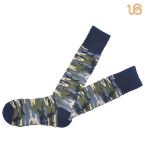 Men′s Camouflage Football Sock pictures & photos