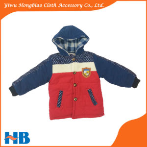Wholesale Children′s Winter Coats Clothing Kid′s Winter Jackets Outerwear Cotton Feather Down Clothes