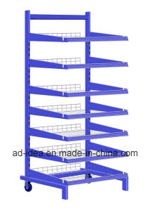 Seven Layers Blue Metal Display Rack/ Useful Display pictures & photos