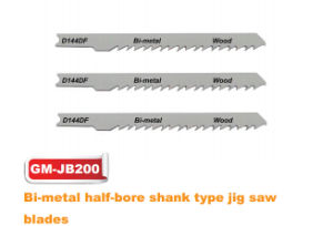 Bi-Metal Half-Bore Shank Type Jig Saw Blade (GM-JB200) pictures & photos