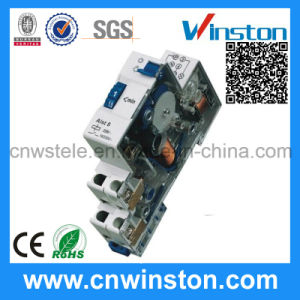 Mechancial Digital DIN Rail Transparent Mechnical Time Switch with CE pictures & photos