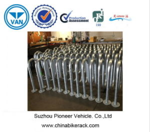 Hot-Galvanized Wave Bicycle Racks pictures & photos