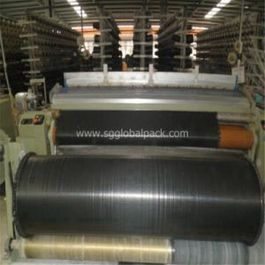 Agriculture Drainage Black PP Woven Fabric in Roll pictures & photos