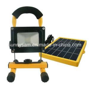 High Qualtiy Portable Rechargeable Solar LED Flood Emergency Light pictures & photos