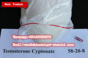 Anti Cancer No Side Effect Steroid Testosterone Cypionate for Muscle Growth CAS-20-8 58 pictures & photos