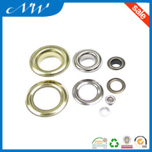 Eyelets in Nickel Plated Colors Suitable for Bags, Shoes Items