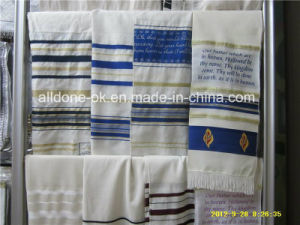 Judaica Jewish Tallit Talit Prayer Shawl Our Father Prayer Shawl pictures & photos