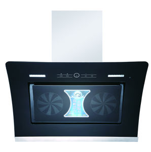 Twin Motor Exhaust Hood/Cooker Hood for Kitchen Appliance/Range Hood (TWIN8#A) pictures & photos