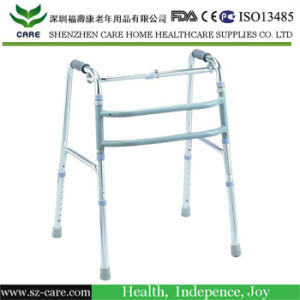 Reciprocating Walking Aid Aluminum Folding Walker pictures & photos