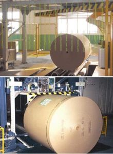 Automatic Reel Strapper and Wrapper Solution pictures & photos