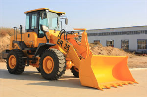Everun New 3 Ton Construction Loader with Electrical Gear, with Bulldozer, 4 in 1, Concrete Mixer pictures & photos