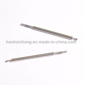 OEM Precision Lathe Metal Electrical Aluminum Knurled Terminal Pin pictures & photos