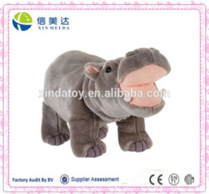 "Plush Standing Hippo 14"" in High Quality pictures & photos"