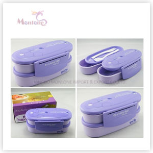 Tableware Portable Food Grade Plastic Lunch Box pictures & photos
