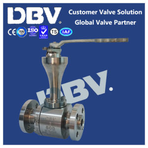 Pneumatic Stellite Metal Seated Cryogenic Wcb Ball Valve pictures & photos