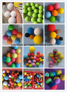 Logo Print Foam Ball Colored EVA Foam Red Balls pictures & photos