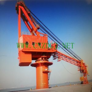 Floating Crane Work Near Dock for Construction Need pictures & photos