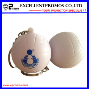 Logo Customized Advertising PU Stress Ball Keychain (EP-K57309) pictures & photos