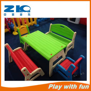 Wholesale Kindergarten Plastic Garden Table pictures & photos