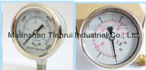 Water Proof Stainless Steel Pressure Gauge 0-160bar/Psi