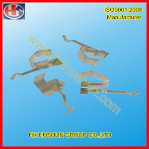 Precision Metal Nickel Plated Electrical Contact and Brass Rail Contact (HS-BC-010) pictures & photos