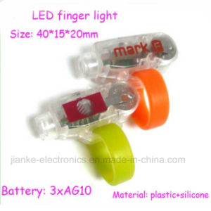 LED Flashing Ring Finger Lights with Logo Printed (4012) pictures & photos