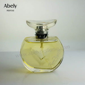 100ml Girl Style Glass Perfume Bottle with Delicate Butterfly pictures & photos