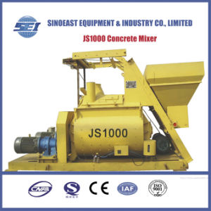 Js1000/750/500/350 Full Automatic Concrete Mixer pictures & photos