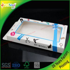 Tableware Plastic APET Paper Box with Hang pictures & photos