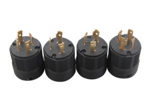 041182001 NEMA American spin lock plug pictures & photos