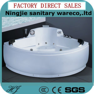 Sanitary Ware Bathroom Acrylic Bathtub with The Jacuzzi Fuction (5229) pictures & photos