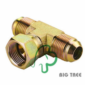 Jic Male 74 Degree Cone Branch Tee Tube Adapter pictures & photos