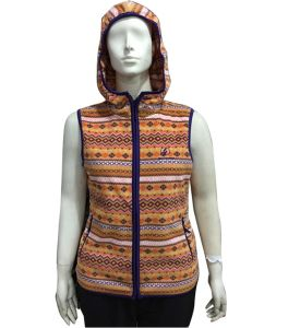 Wholesale Customized Design High Quality Print Thickness Promotional Polar Fleece Vest pictures & photos