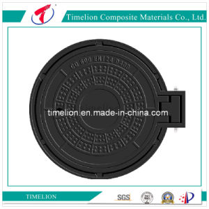 Manhole Cover with Hinge and Screw
