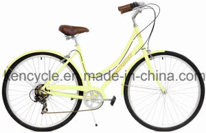 700c 7 Speed Index Dutch Classic Lady Bike with Style and Alloy Frame Good Quality pictures & photos